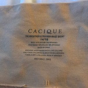 Cacique Smoother Ultra High Waist Short 14/16